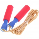 NINJA Exercise Skipping Jumping Rope - Golden + Red (280cm-Rope)