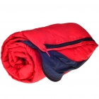 Basecamp Warm Rectangle Sleeping Bag - Red