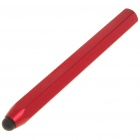 Creative Aluminum Alloy Hexagon Pencil Style Capacitive Touch Screen Stylus - Red