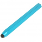 Creative Aluminum Alloy Hexagon Pencil Style Capacitive Touch Screen Stylus - Blue