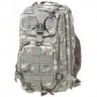 Camouflage Multi-Function Outdoor Military War Game Oxford Fabric Backpack Bag (Random Color)