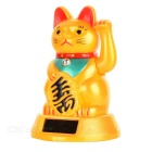 Solar Powered Waving Lucky Cat