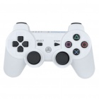 Designer's DualShock Bluetooth Wireless SIXAXIS Controller for PS3 - White + Black