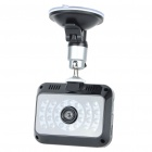 "720P 5MP Car DVR Camera Camcorder w/ 26-LED IR Night Vision/AV-Out/TF Slot (2.4"" TFT LCD)"