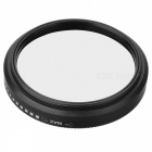 Densidade Neutra ND2-ND400 Fader ND Filter (52mm)