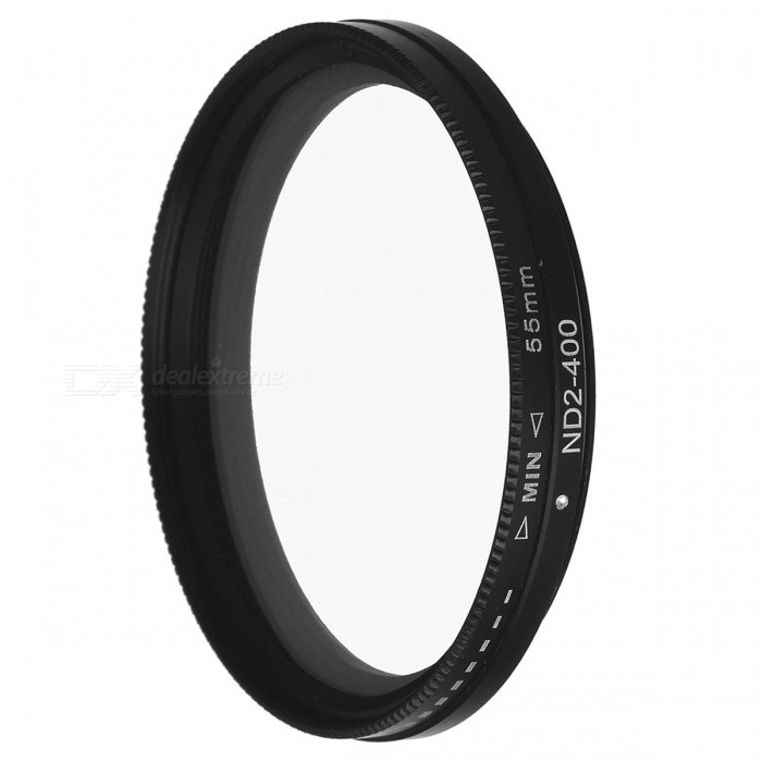 Neutral Density ND2-ND400 Fader ND Filter (55mm) fotga neutral density nd2 nd400 fader nd filter 72mm