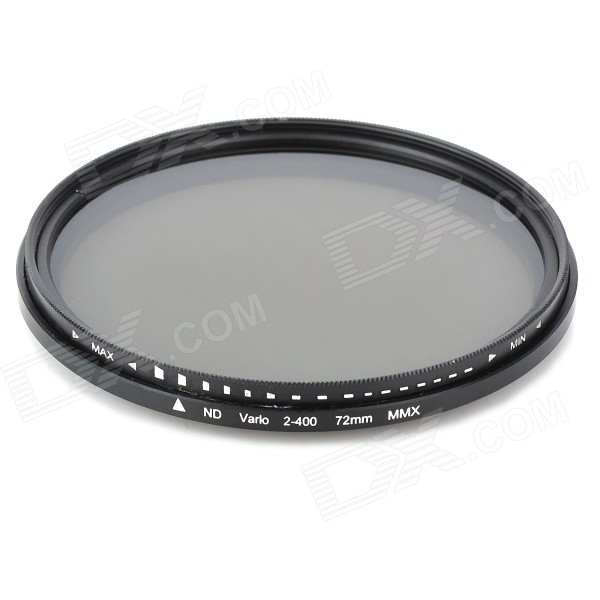 Neutral Density ND2-ND400 Fader ND Filter (72mm) fotga neutral density nd2 nd400 fader nd filter 72mm