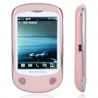 "ALCATEL OT-710D 2.8"" Touch Screen Dual SIM Quad-Band GSM Cell Phone w/ JAVA/ TF / FM - Light Blue"
