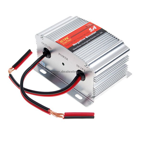 5A DC24V to DC12V Power Inverter