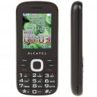 "ALCATEL C60 2.0"" LCD Dual SIM Dualband GSM Cell Phone w/ TF/FM for Senior Citizens - Black"