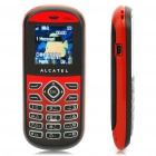 "Alcatel OT-209 1,45 ""LCD-Dualband GSM Handy w / FM / Flashlight - Deep Red"