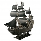 CUBICFUN Intellectual Development DIY 3D Paper Puzzle Set - Queen Anne's Revenge