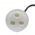 3W 6500K 230LM 3-LED White Light Ceiling Lamp with LED Driver (85~265V)