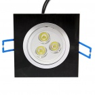 3W LED White Light Ceiling Lamp