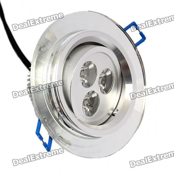 3W 3300K 200LM 3-LED Warm White Light Ceiling Lamp (85~265V) 48w samsung 5630 mounted recessed led ceiling panel light 60x60cm 3800 4200lm 2700 7000k color white pure white warm white