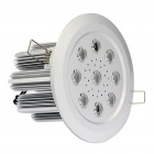 9W 3300K 620LM 9-LED Warm White Light Ceiling Lamp (85~265V)