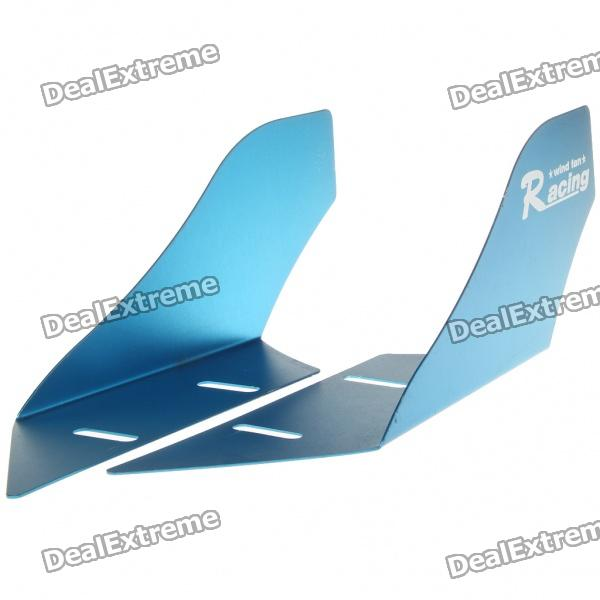 Cool Universal Car Decorative Front/Rear Wind Fins - Blue (Pair) аналоговый микшер behringer xenyx 802