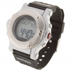 Stylish Digital Sports Heart Rate Monitor Wrist Watch - Black (1 x CR2032)