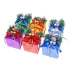 Sumptuous Christmas Gift Box Ornaments
