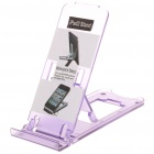 Portable 5-Level ABS Stand Holder for Ipad 2/Ipod Touch 4/Iphone 3g/4 - Purple