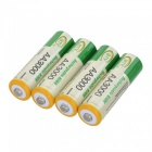 "BTY Rechargeable 1.2V ""3000mAh"" Ni-MH AA Batteries (4-Piece)"