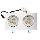 6W 3300K 370LM Warmweiss LED Ceiling Down Light (85 ~ 265V)