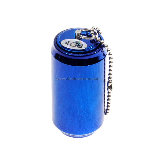4GB Mini Soda Can USB Flash Drive