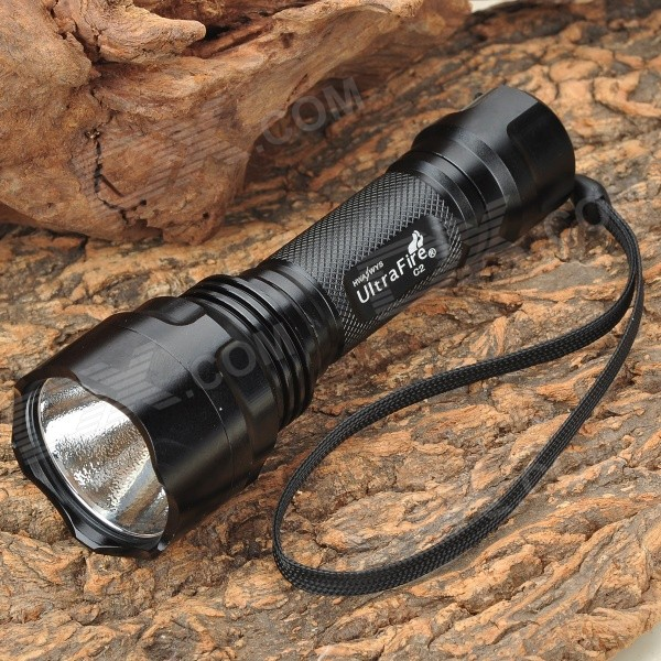 UltraFire C2 LED 2-Mode Flashlight (2xCR123A)