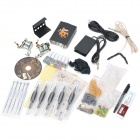 DHC-1 Professional 2 Guns Tattoo Complete Kit - Black