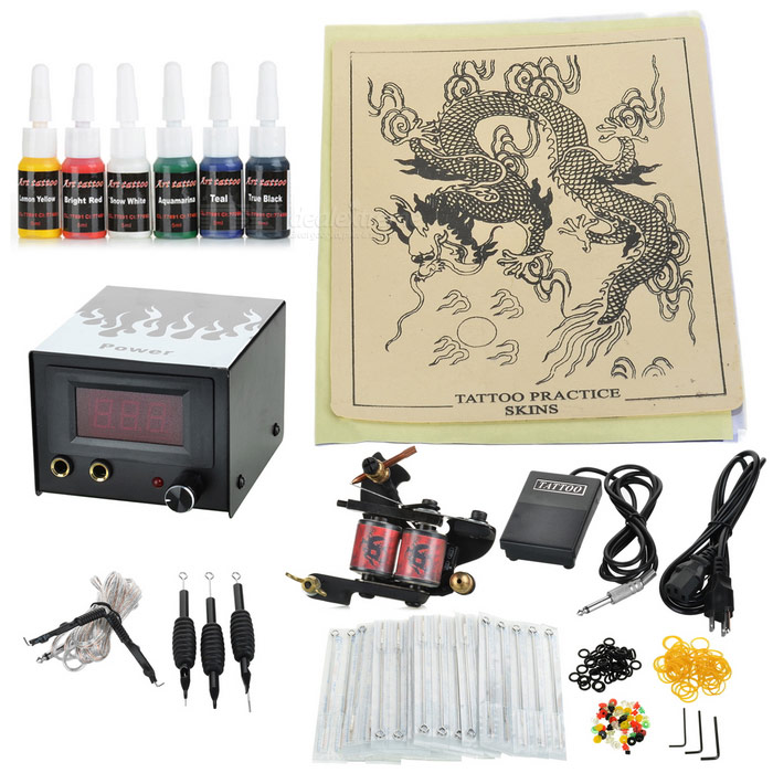 D193 Beginner 1 Gun Tattoo Complete Kit
