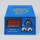 Pro LCD Digital Tattoo Power Supply Machine Kit (110~240V / US Plug)