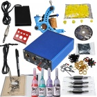 Complete 1-Machine Tattoo Guns Equipment Kit