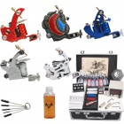 Complete Pro 5 Tattoo Machine Guns 15 Ink Kit