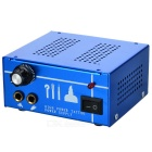 High-Quality Tattoo Power Supply (Blue)