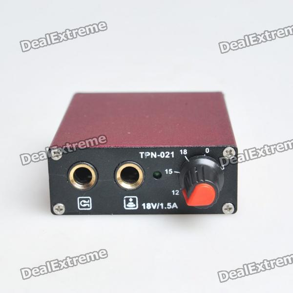 New Top Mini Palm Tattoo Power Supply (Red) power supply for pwr 7200 ac 34 0687 01 7206vxr 7204vxr original 95%new well tested working one year warranty