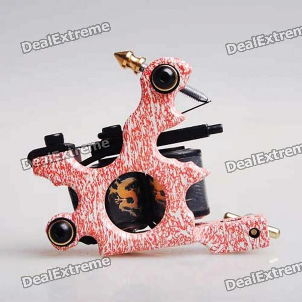 Custom Cast Iron Tattoo Machine Liner Shader Gun (HM45) professional handmade tattoo machine 10 wrap coils iron cast frame custom tattoo gun for liner shader free shipping tm 811