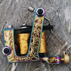Top Custom Cast Iron Tattoo Machine Shader (HM52)