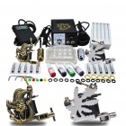 Complete Tattoo Kit 2 Machine Gun Power Ink Set