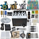 Complete Tattoo Kit 1 Safety Power Supply 3 New Cheerful Machine Gun