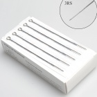 3RS Round Liner Tattoo Needles (50-Piece Pack)