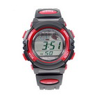 Solar Powered Sports Watch (Red)