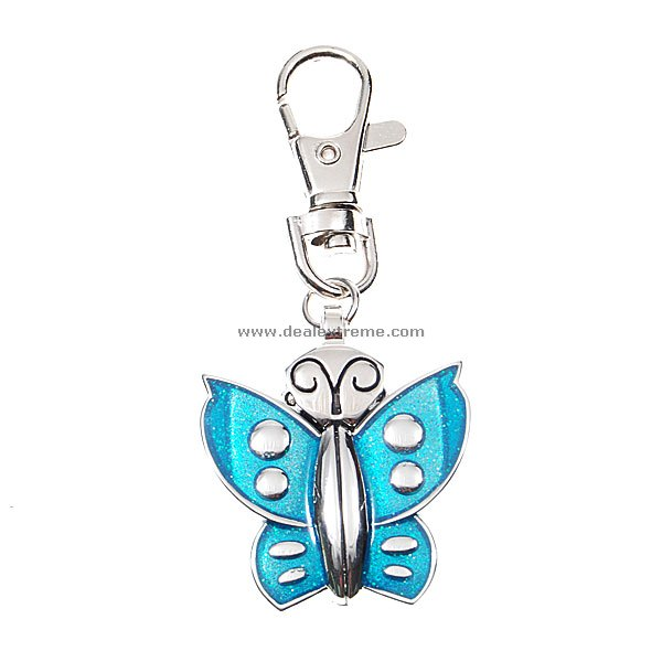 Beautiful Butterfly Clip-on Watch