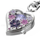 Beautiful Heart Clip-on Watch