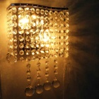 Foursquare Wall Lighting Crystal Feature