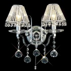 Wall Light with 2 Lighting (Crystal)
