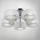 Chrome Finish Acrylic Chandelier with 5 Lighting (110~120V)