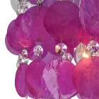 Violet Shell Ceiling Lighting (Chrome Finish / 220~240V)