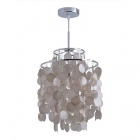 White Shell Pendant Chandelier (AC 220~240V)