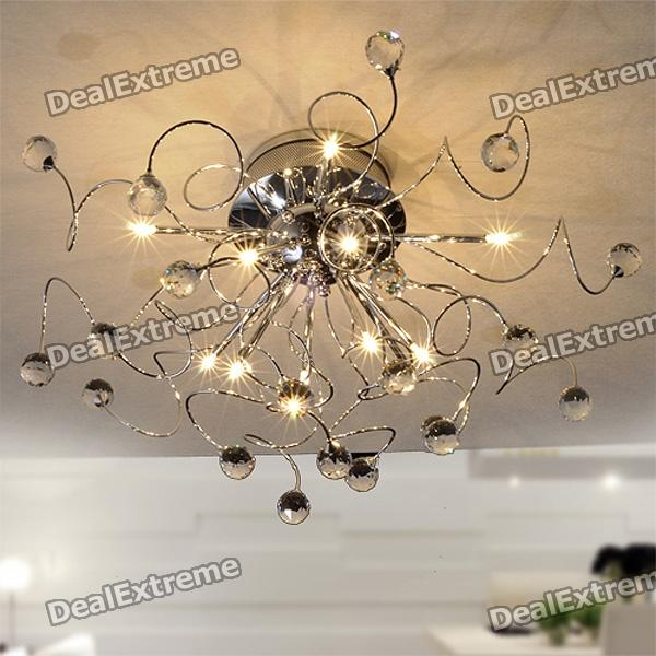 где купить  Contemporary Crystal Chandelier with 11 Lights (K9 Crystal)  дешево