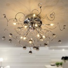 Contemporary Crystal Chandelier with 11 Lights (K9 Crystal)